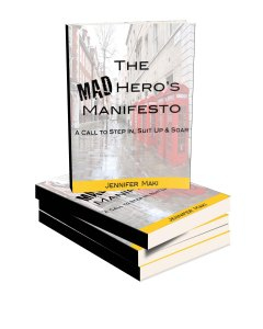 Mad Hero Manifesto book